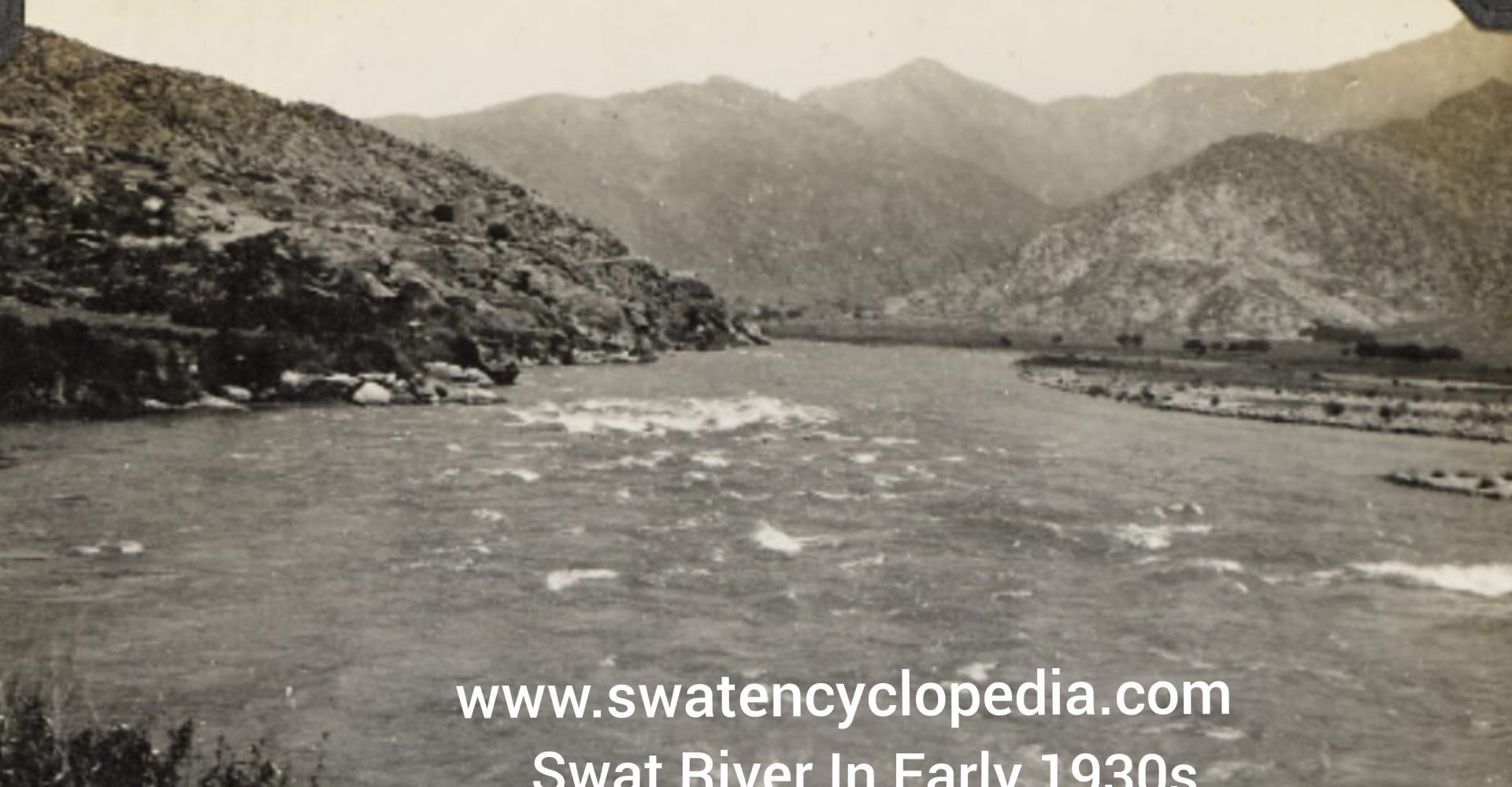 Swat River In Early 1930s